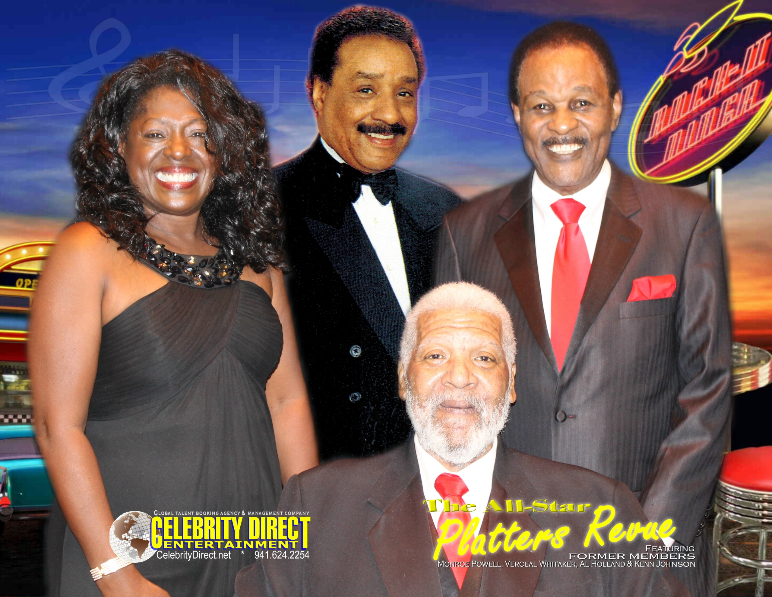 THE ALL-STAR PLATTERS REVUE